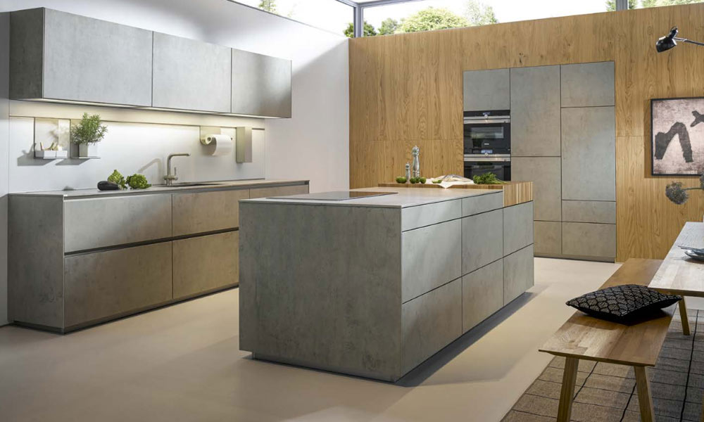 Handleless Kitchens Schuller German Kitchens By Ldk Contract Kitchens