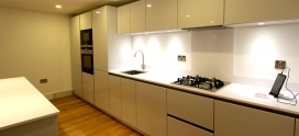 Schuller German Kitchens for a mill conversion in Shoreditch London