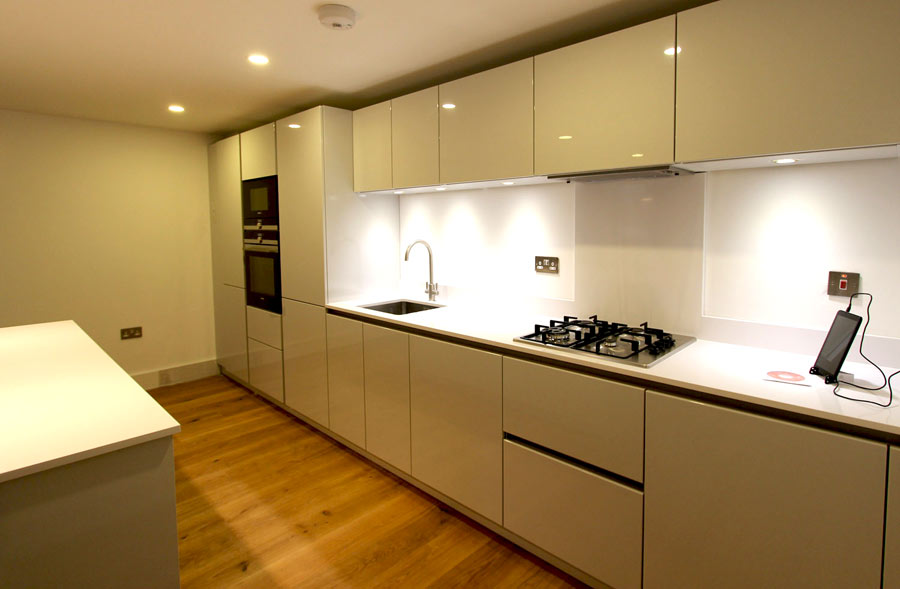 Schuller German Kitchens For A Mill Conversion In Shoreditch London Schuller German Kitchens